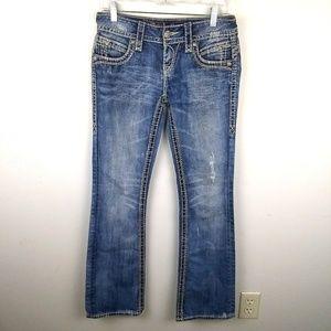 Rock Revival Becky Boot Jeans, sz 26